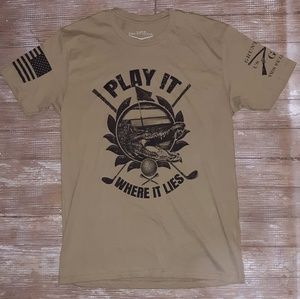 Mens Grunt Style Play it where it lies T Large